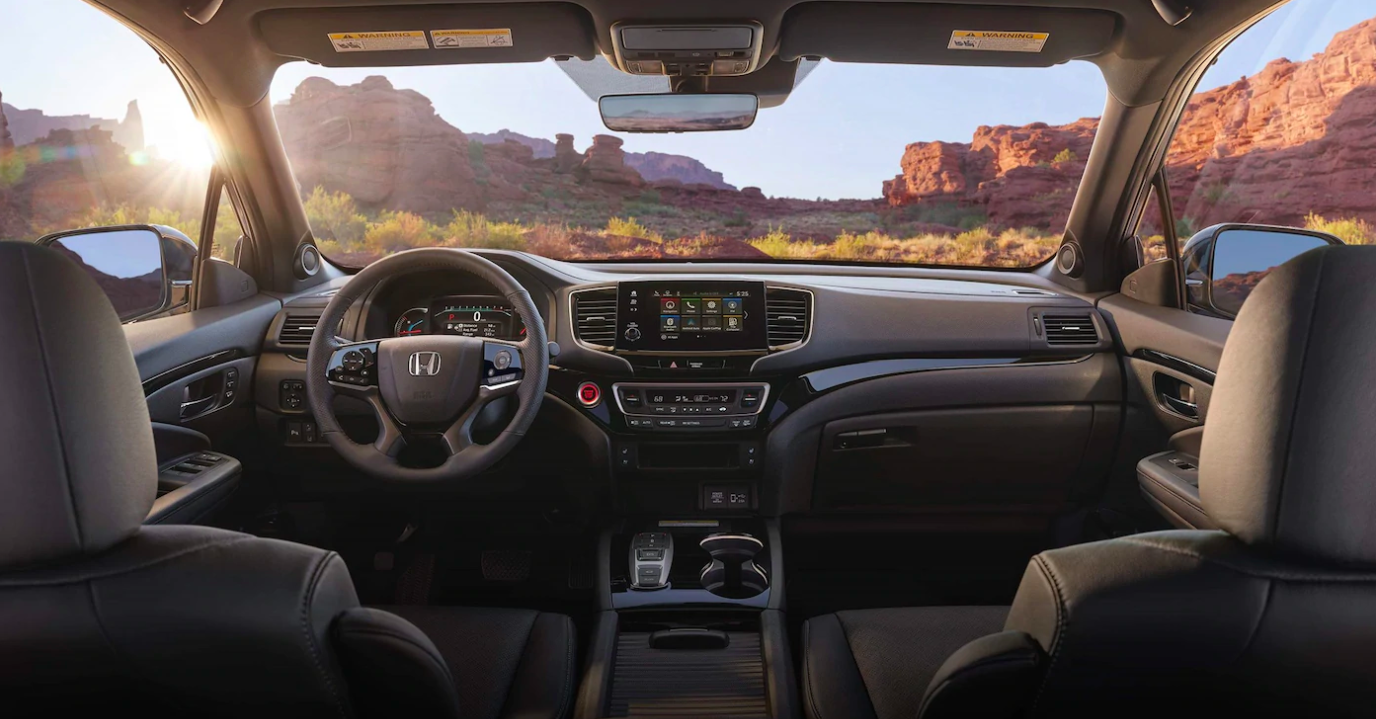2019 Honda Passport interior front