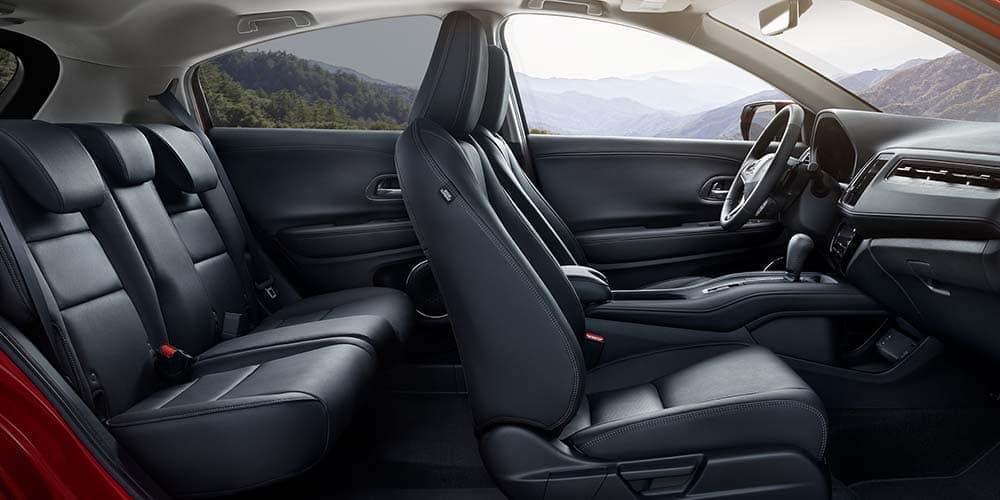 2019 Honda HR-V interior leather seating