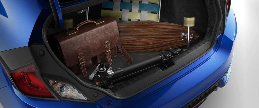 2019 Honda Civic Coupe cargo
