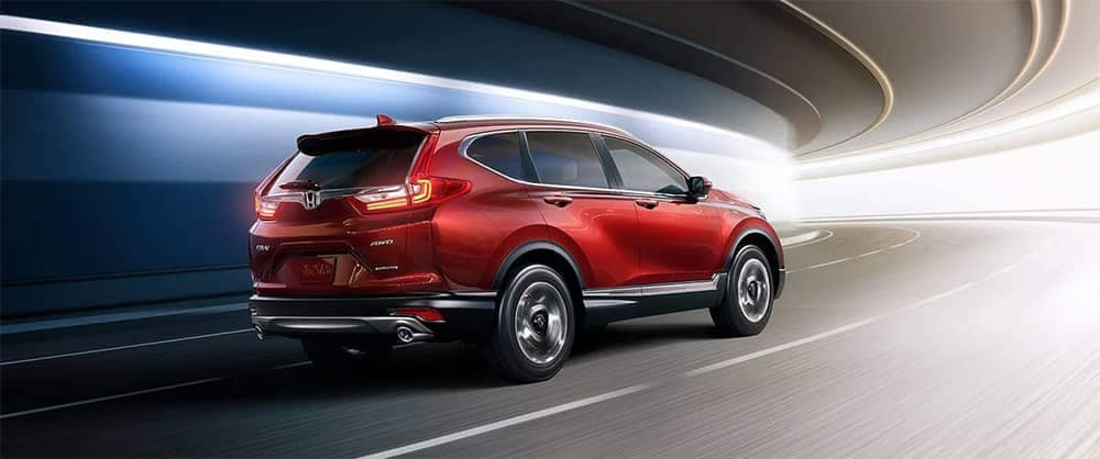 2019 Honda CR-V Driving Through Tunnel