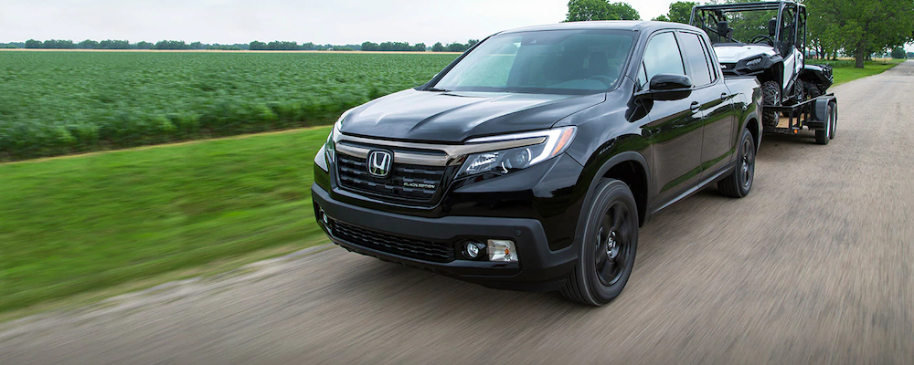 2019 Ridgeline towing a trailer
