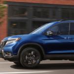 2020 Honda Passport driving on city street