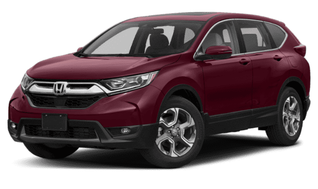 Red 2019 Honda CR-V EX