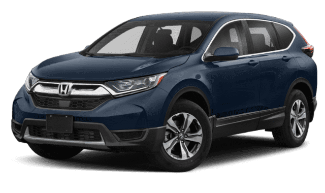 Blue 2019 Honda CR-V LX