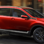 2020 Honda CR-V driving on highway