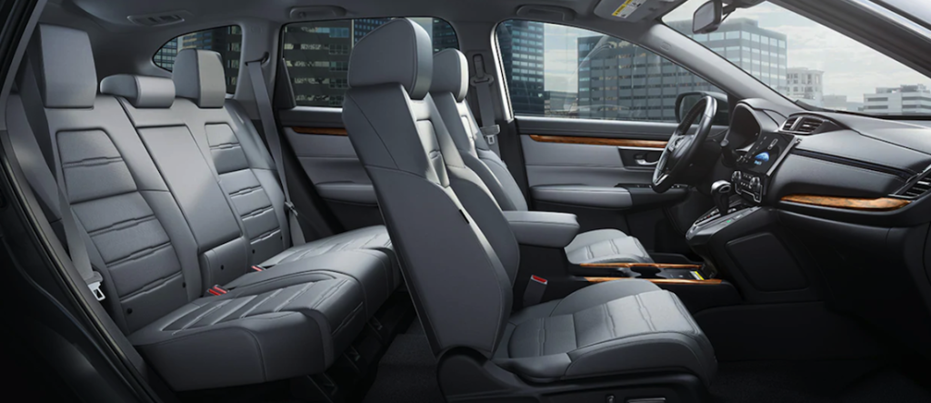 2020 Honda CR-V interior seating