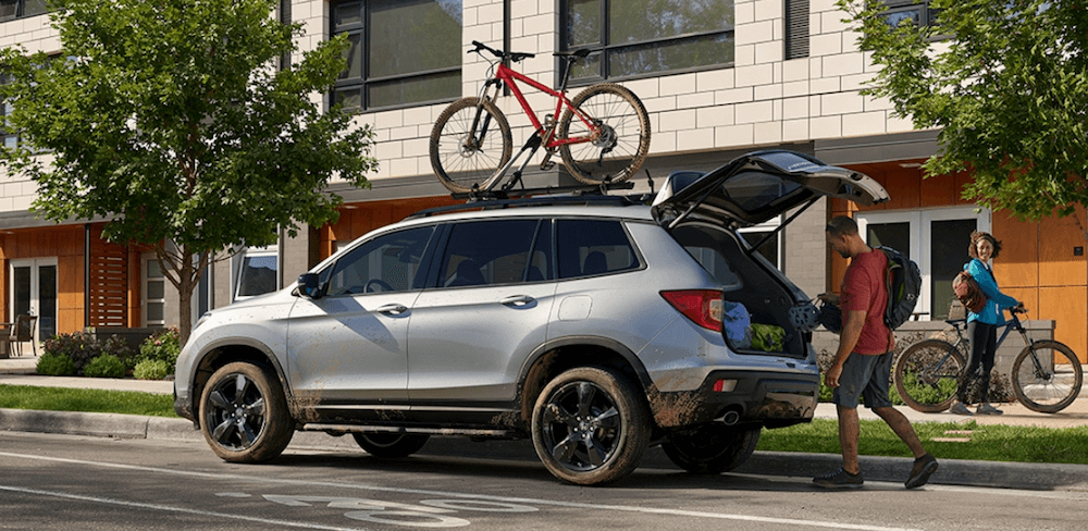 2020 Honda Passport Cargo space