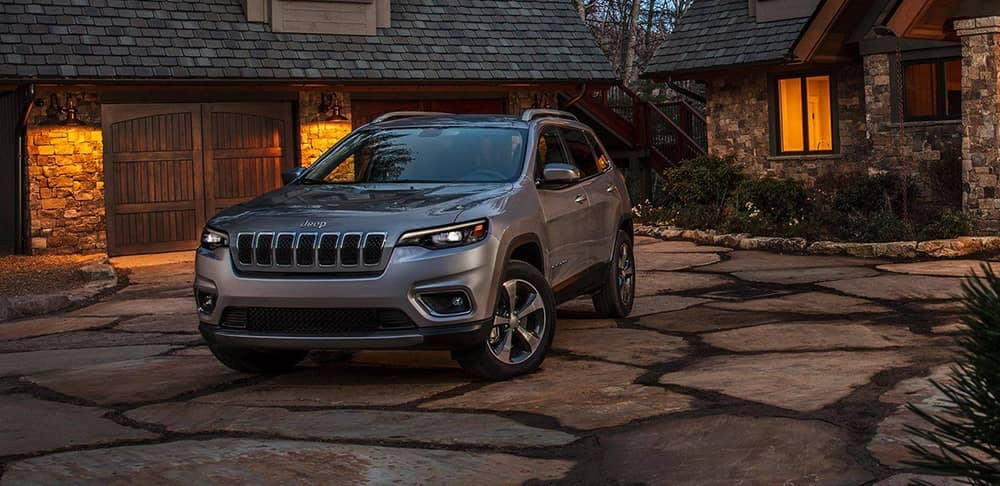2019 Jeep Cherokee parked in driveway