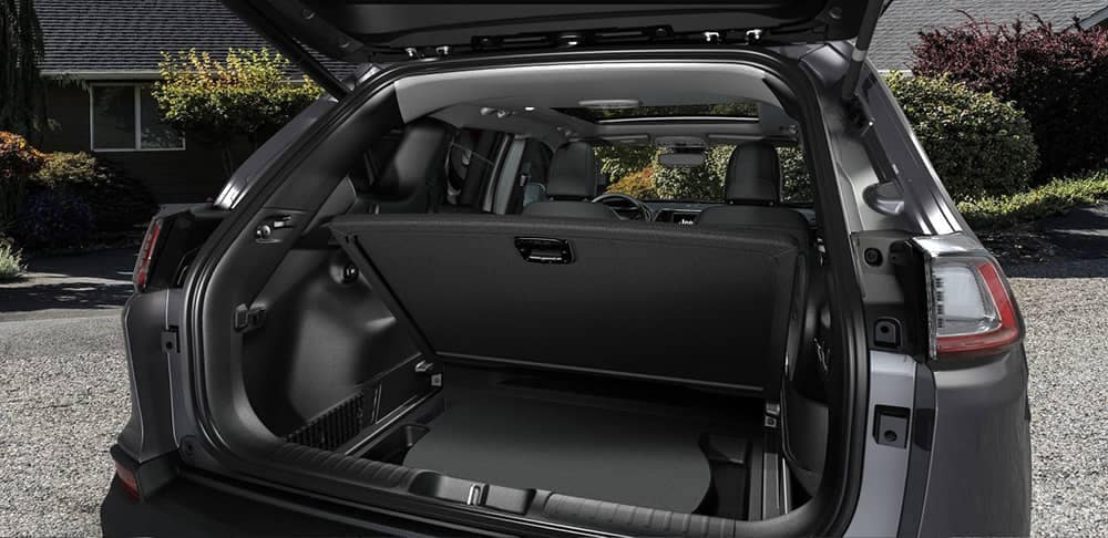2019 Jeep Cherokee rear cargo space