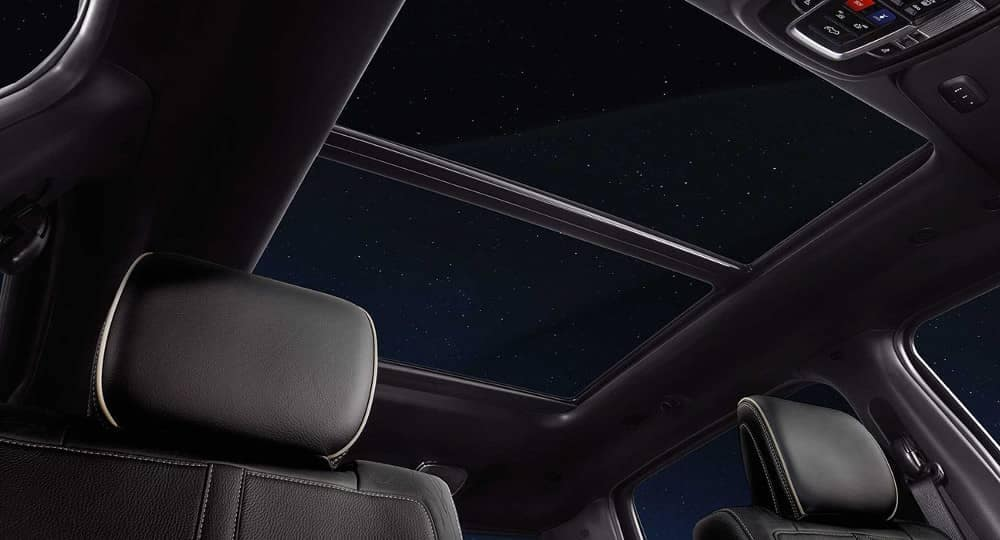2019 Ram 1500 panoramic sunroof