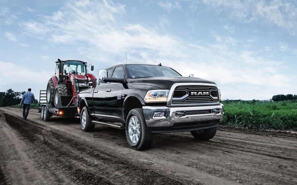 2018 Ram 2500 towing
