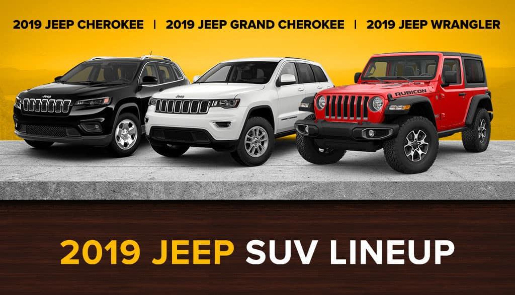 2019 Jeep SUV Lineup   Westpointe CDJR   Yukon, OK