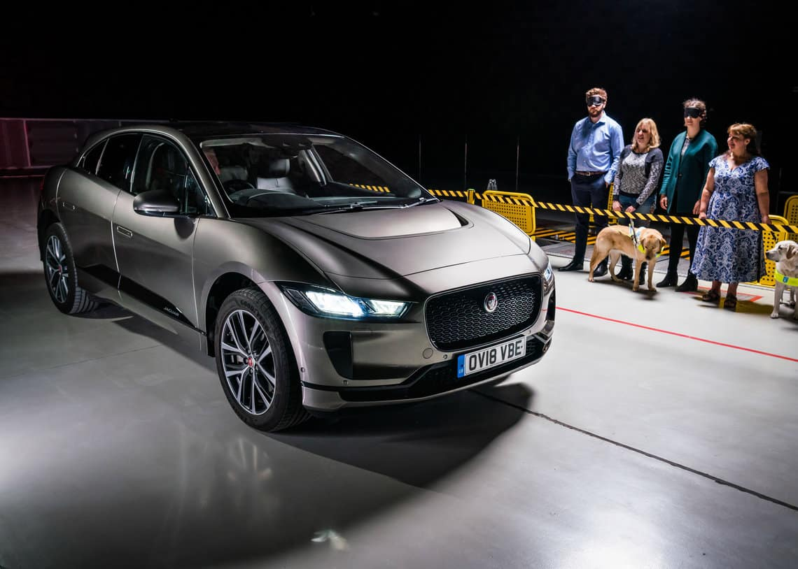 Why did Jaguar create the Audible Vehicle Alert System (AVAS) for the I-PACE?